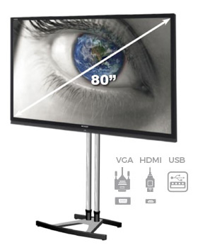 "80"" HD LED Display Rental"
