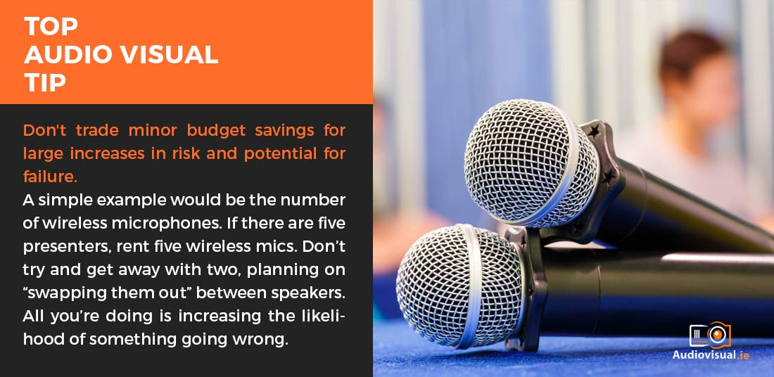 Audio Visual Rental Tips - Audio Visual Dublin