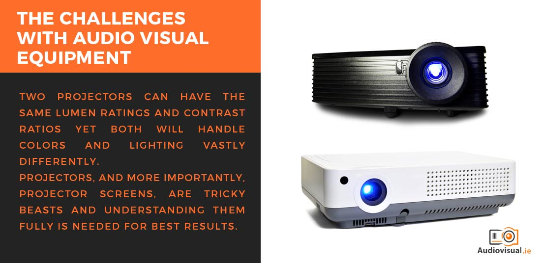 The Challenges With Audio Visual Rental - Projectors