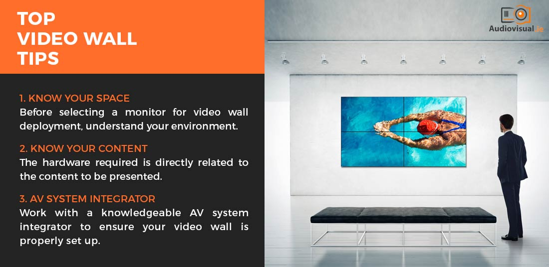 Video Wall Tips - Audio Visual Rental Dublin