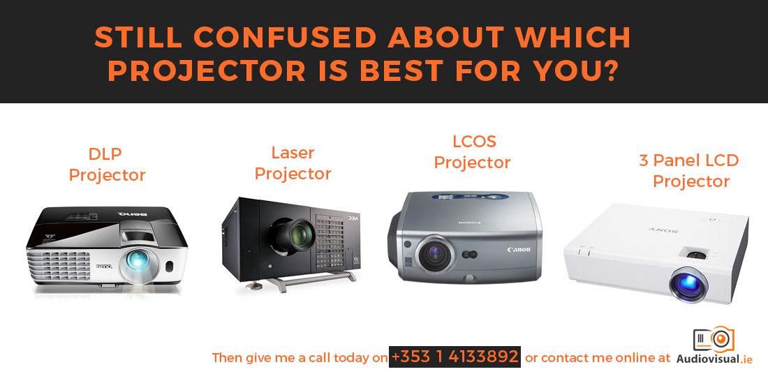 Differences Between Projectors - Projector Hire Dublin