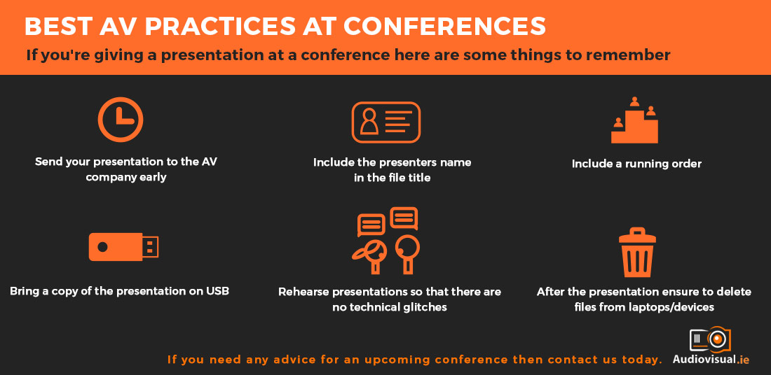 AV Tips for Conferences - Audio Visual Dublin