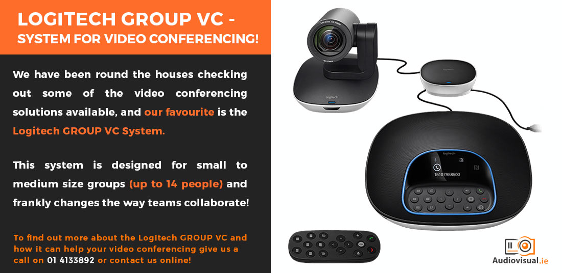 Logitech Group VC - System For Video Conferencing - Audiovisual Dublin