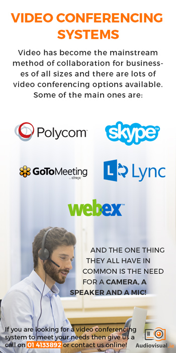 Types of Video Conferencing Systems - Audio Visual Dublin