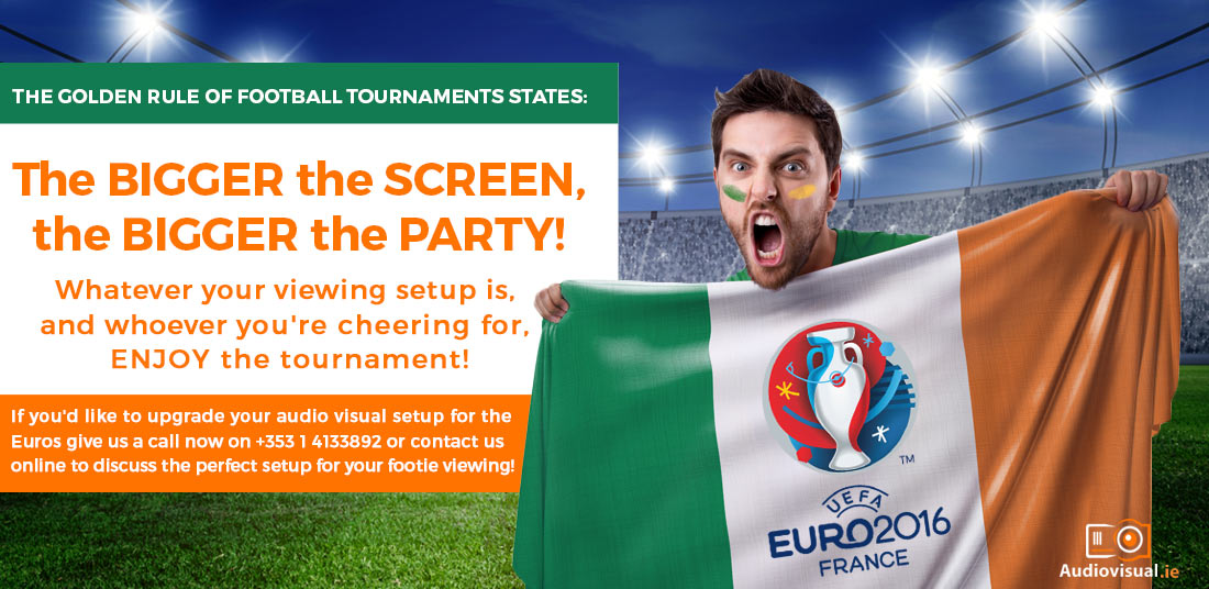 Euro 2016 - Your TV Checklist For Perfect Footie  Viewing! - Flat Screen Hire