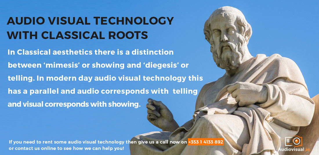 Mimesis and Diegesis - Audio Visual Technology With Classical Roots