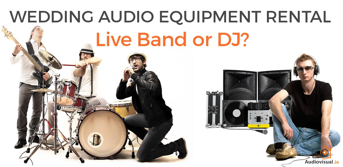 Wedding Audio Equipment Rental - Audio Visual Dublin