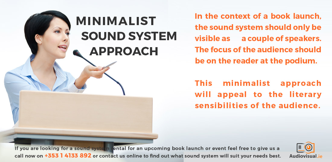 Renting a Sound System - Audio Visual Dublin
