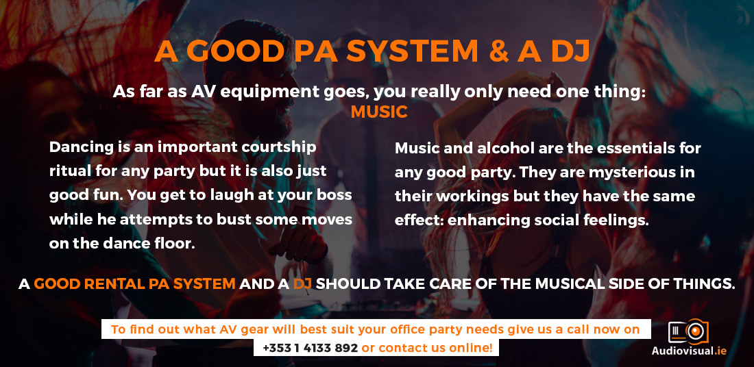 pa-system-rental-for-office-parties-audio-visual-dublin