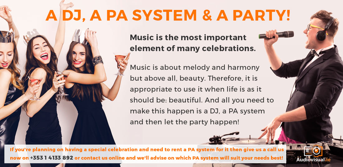 pa-system-rental-for-parties-audio-visual-dublin