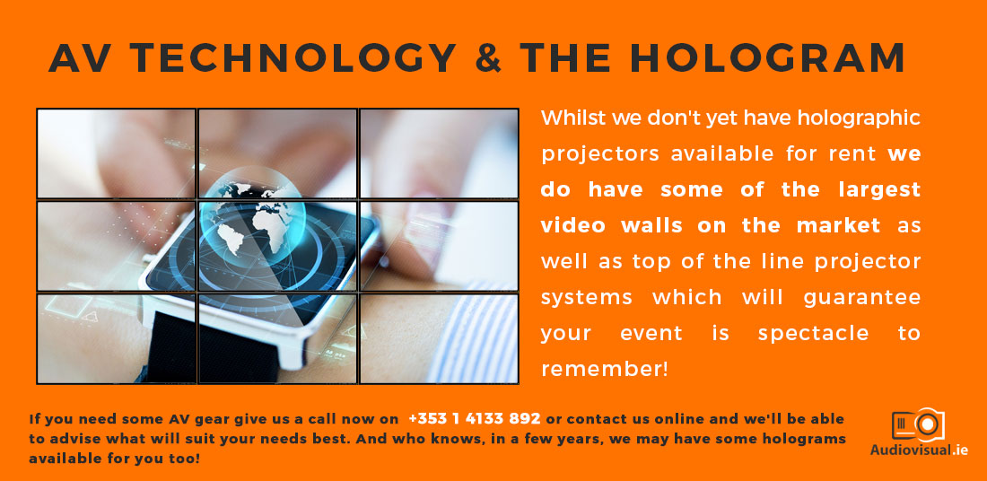 AV Technology and Holograms