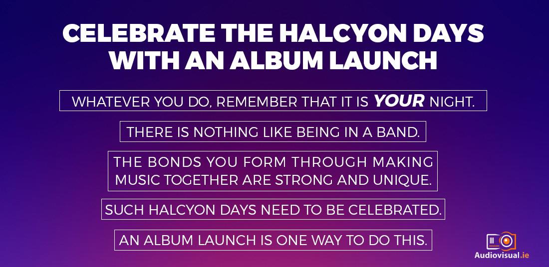 Album Launches - AV Rental for Albums