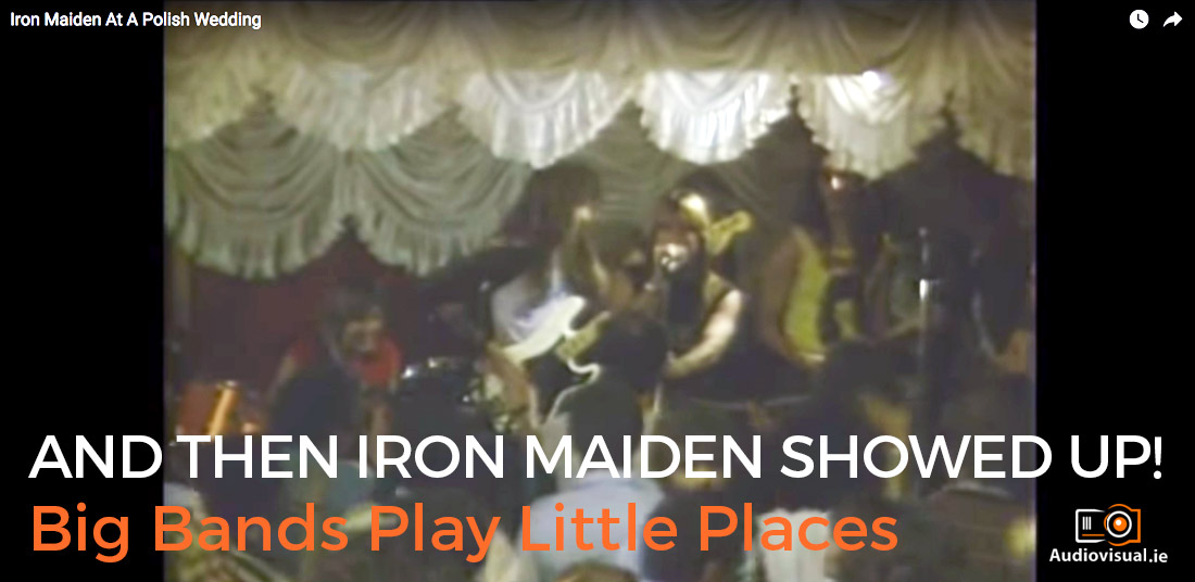 Big Bands Play Little Places - Iron Maiden Play at Wedding