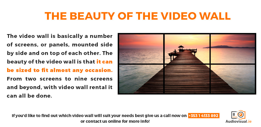 Video Wall Hire - The Beauty of Video Walls
