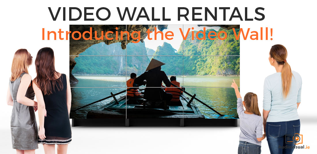 Video Wall Rentals - Introducing the Video Wall