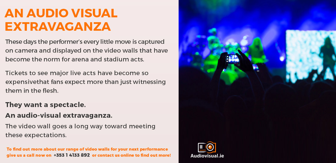 Audio Visual Extravaganza - Video Wall Rental