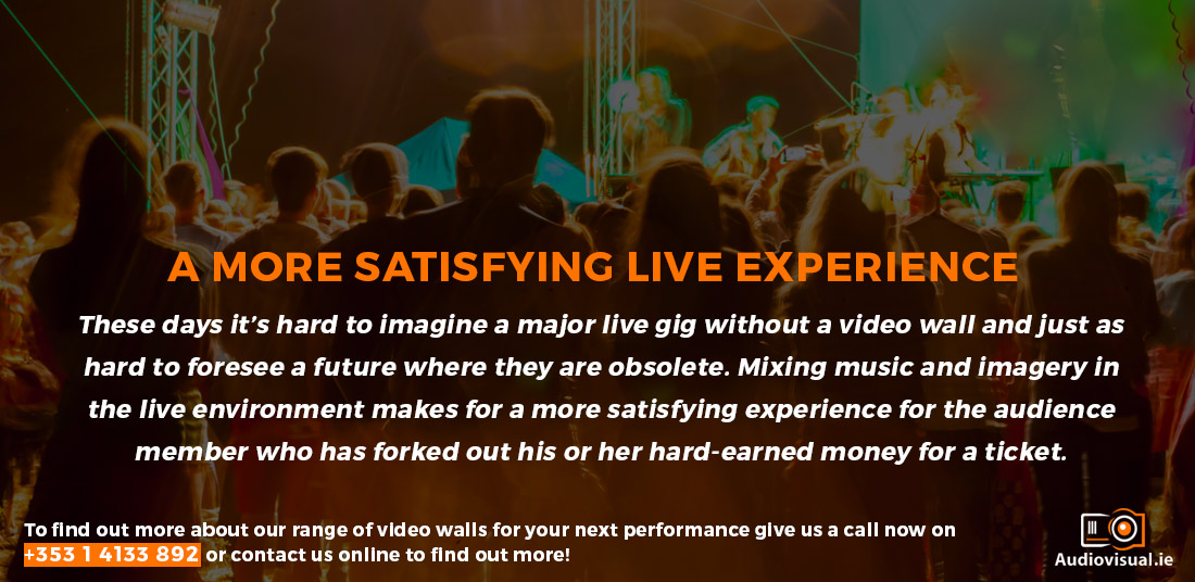 Better Gig Experience - Video Wall Rental