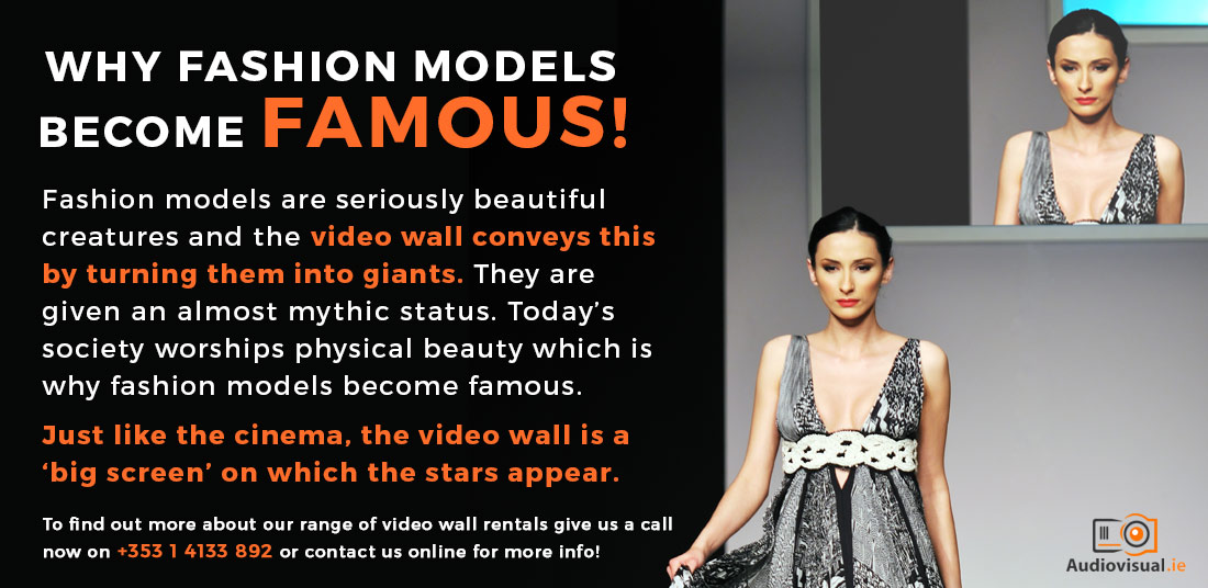Video wall rental for fashion - Video Walls Ireland