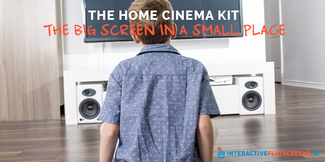 Home Cinema Kit Rental - Big Screen In A Small Space