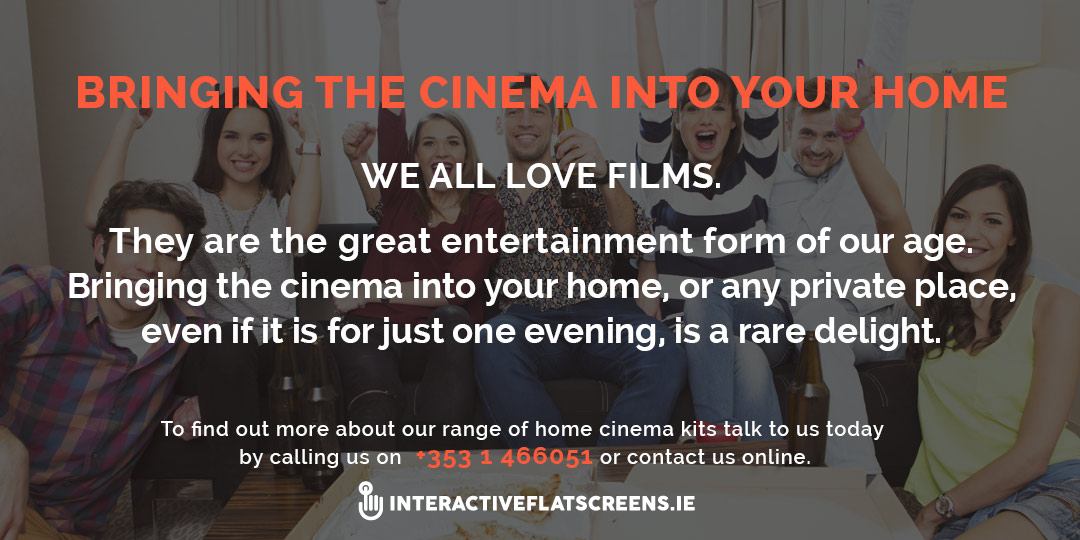 In House Cinema - Home Cinema Rental Ireland
