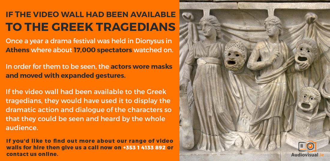 Video Walls For Greek Tragedies - LED Video Walls