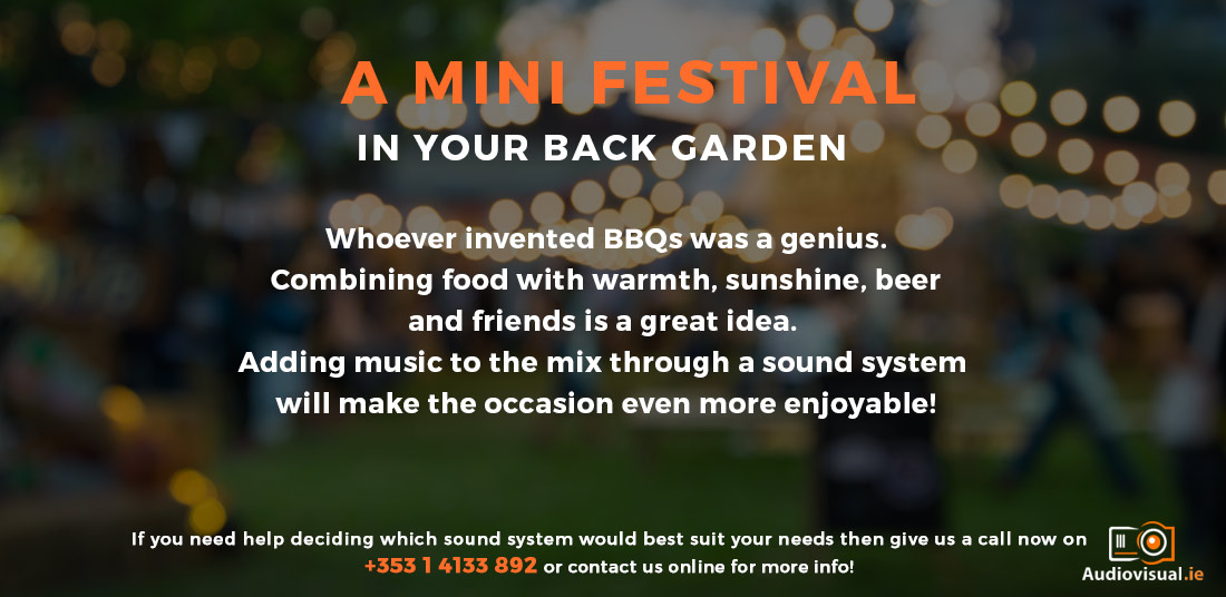 Mini Festival PA System Rental - Audio Visual Ireland
