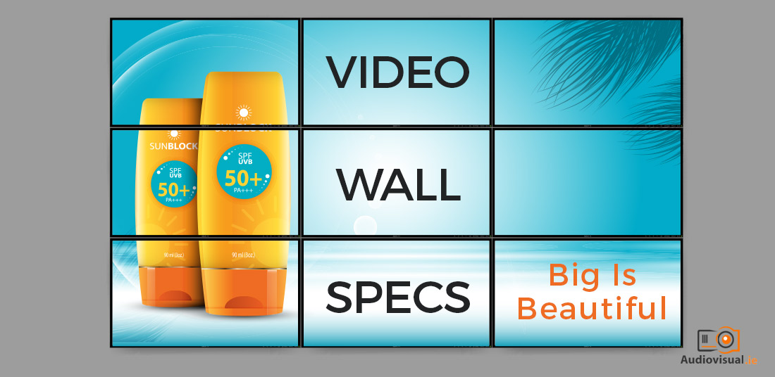 Video Wall Specs - NEC Video Wall Rentals