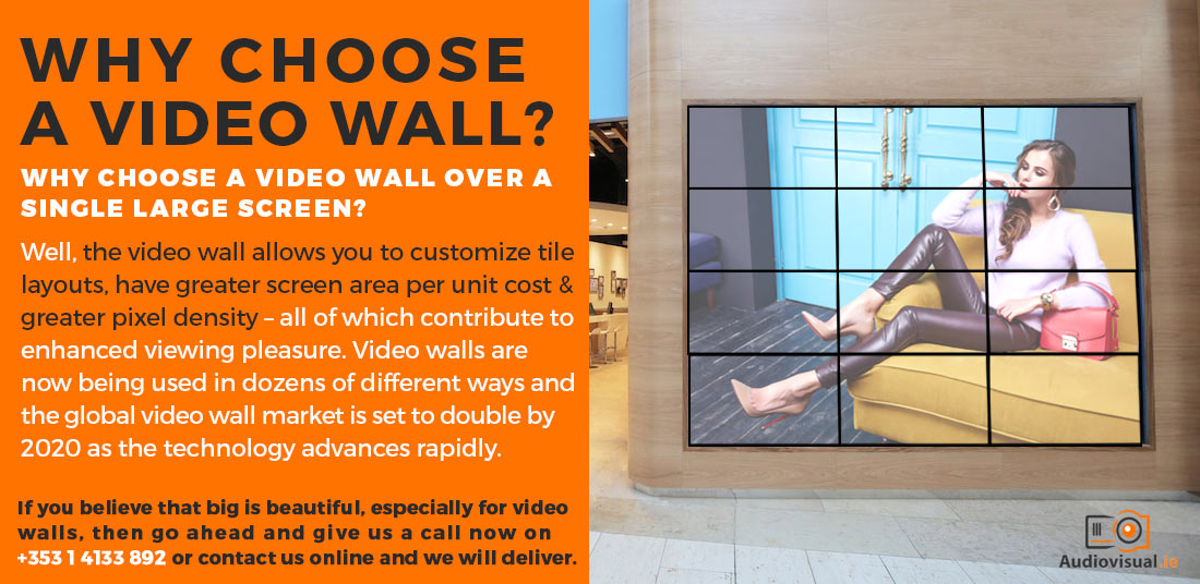 Why Choose A Video Wall