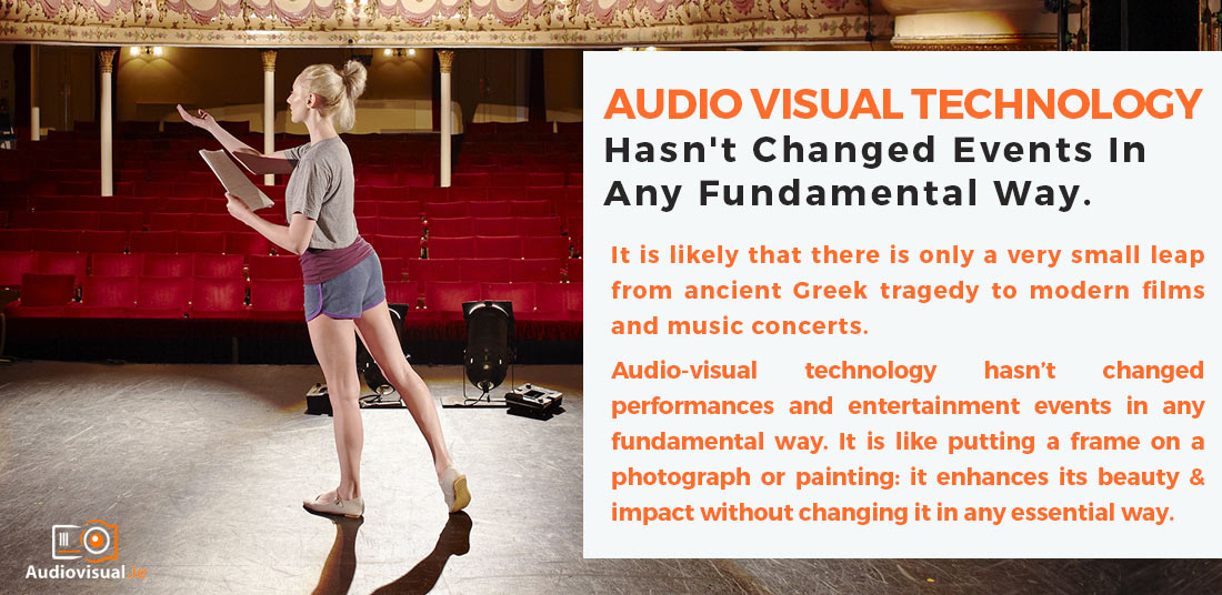 Audio-Visual Technology and Greek Tragedy - AV Rental