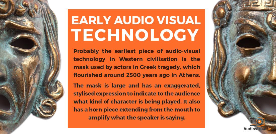 Early Audio-Visual Technology - Audio Visual Rental