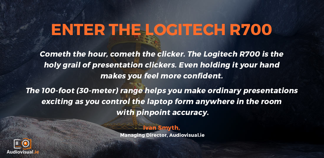 Logitech R700 Range - Wireless Professional Presenters
