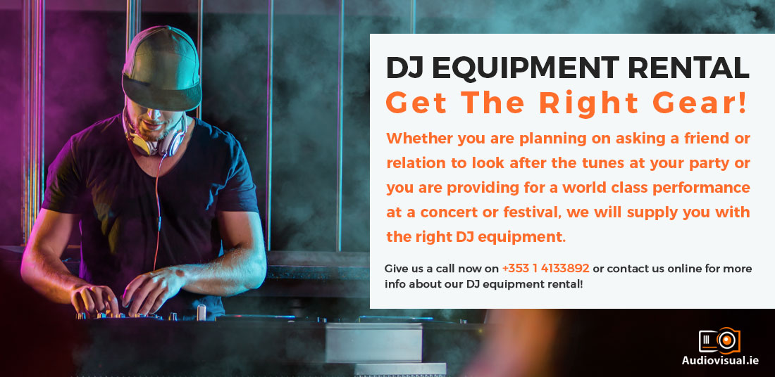 DJ Equipment Rental Ireland