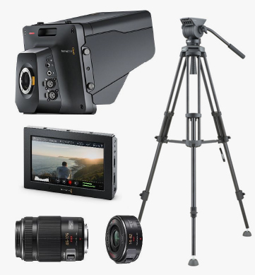Blackmagic Design Studio Camera 4k Rental Package - Audiovisual Rental