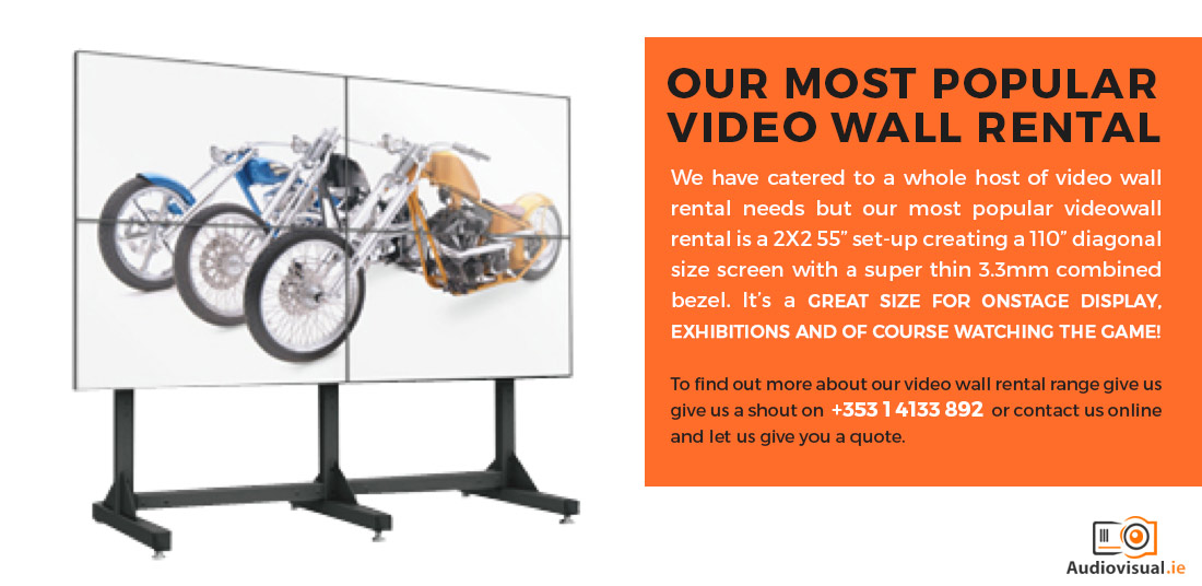Popular LCD Video Wall Rental Ireland