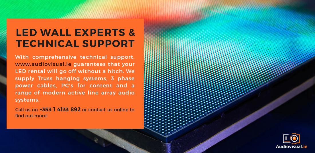 LED Wall Expert Ireland - Audio Visual Rentals