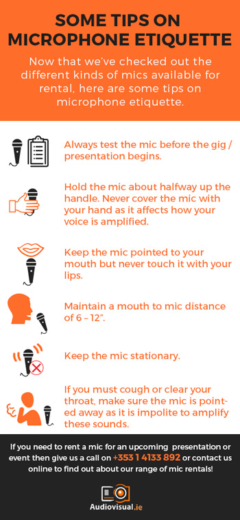 Mic Etiquette - Tips for Using A Microphone