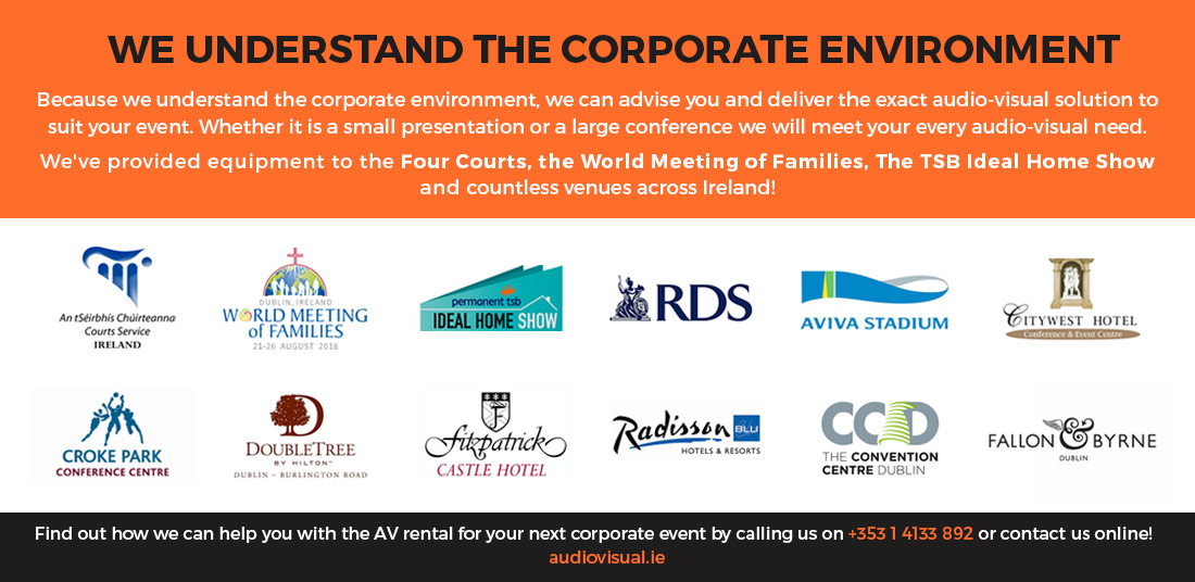 Corporate AV Rental Ireland