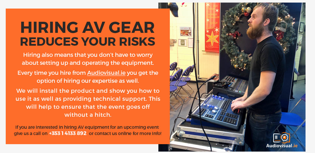 Hiring AV Equipment -Audio Visual Technicians