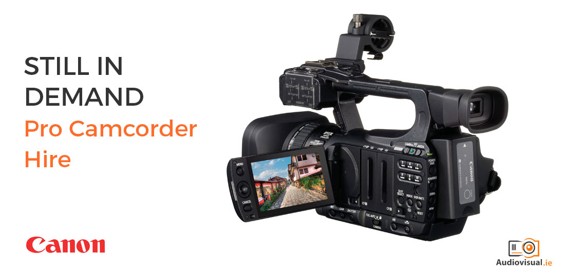 Pro Camcorder Hire - Audio Visual Ireland