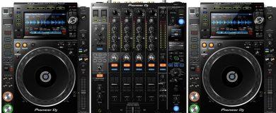 Pioneer- DJM2000-Deck-Rental-Dublin
