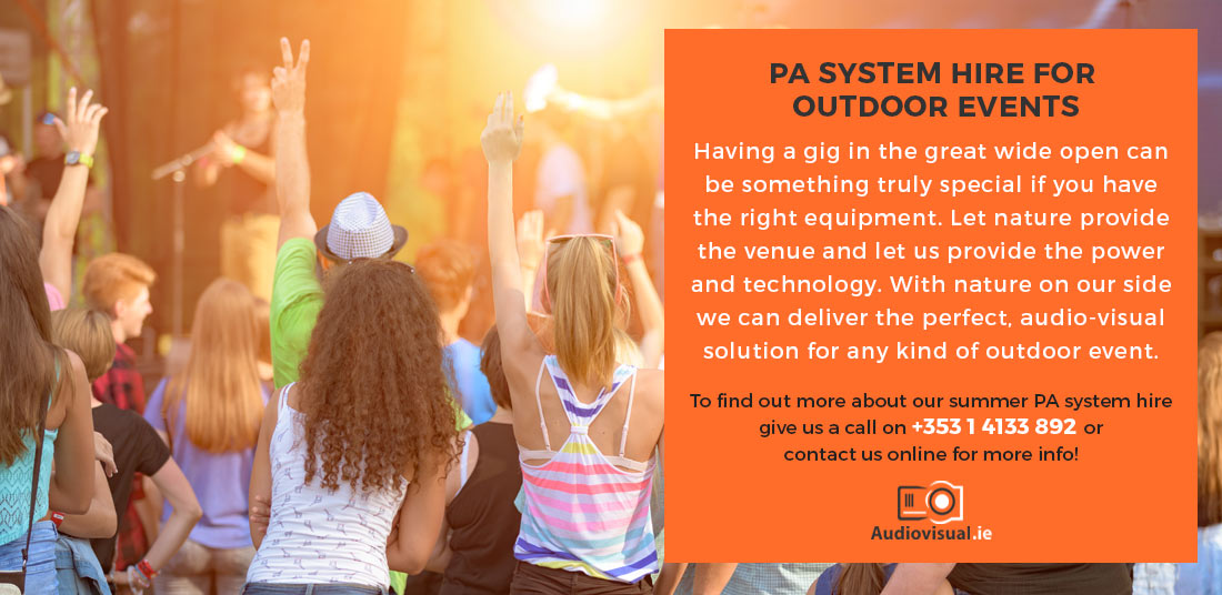 PA System Hire for Outdoor Events