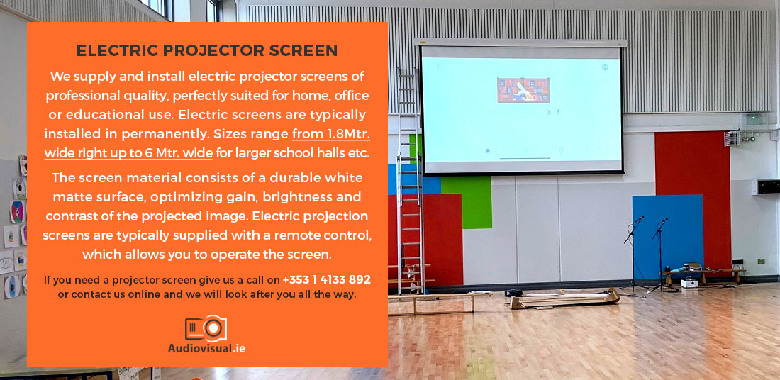 Electric Projector Screen Info