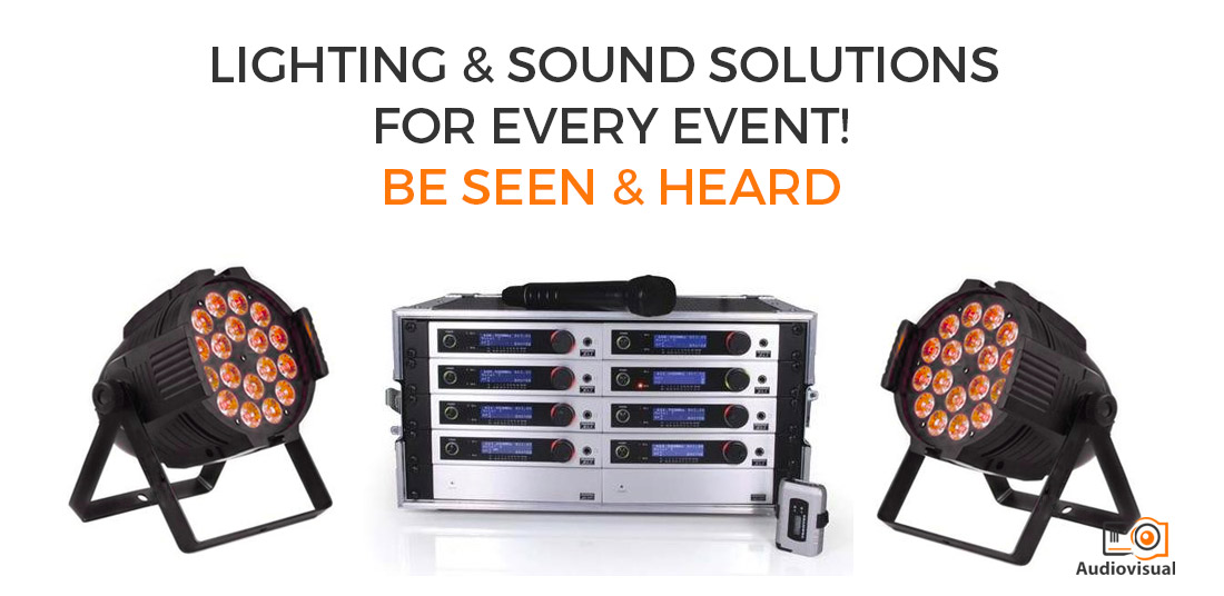 Lighting and Sound Solutions for Every Event - AV Rental for Events