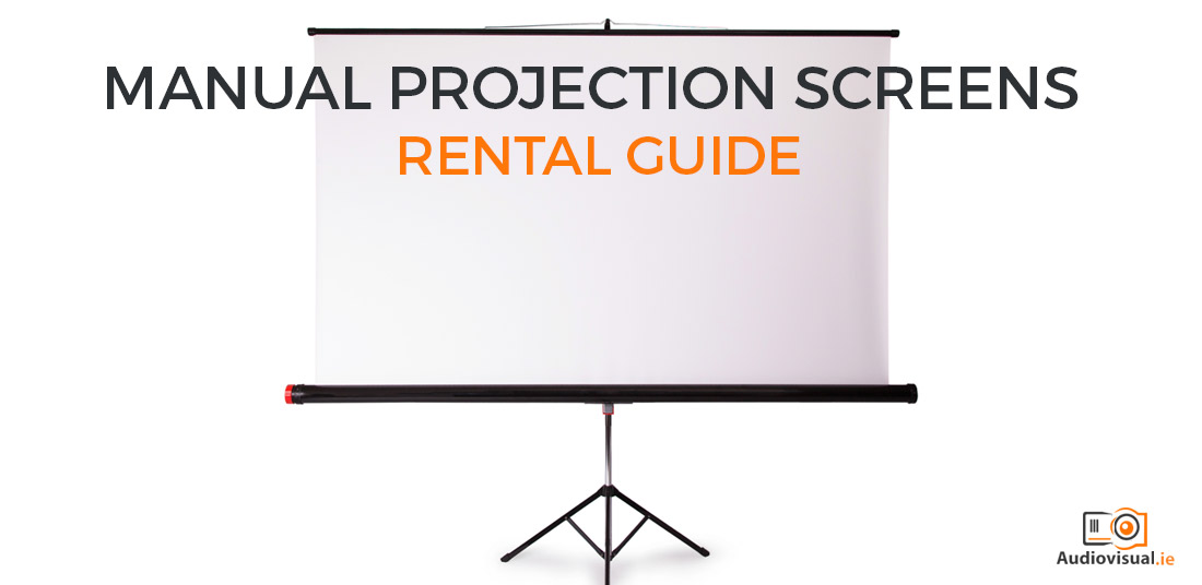 Manual Projector Screens - Rental Guide