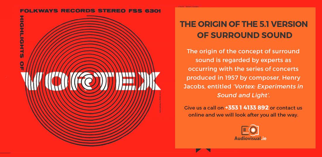 Origins of Surround Sound - Vortex - Henry Jacobs - Audiovisual Rental Ireland