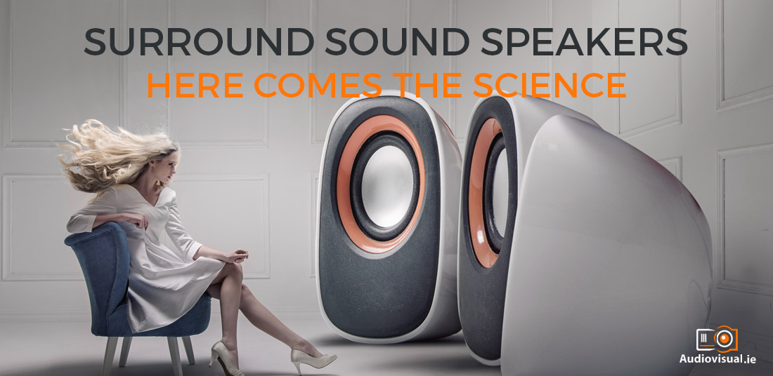 Surround Sound Speakers - Here Comes The Science - AV Rental Ireland