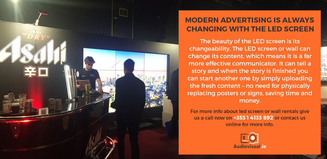 LED Screen Rentals - Audiovisual Dublin