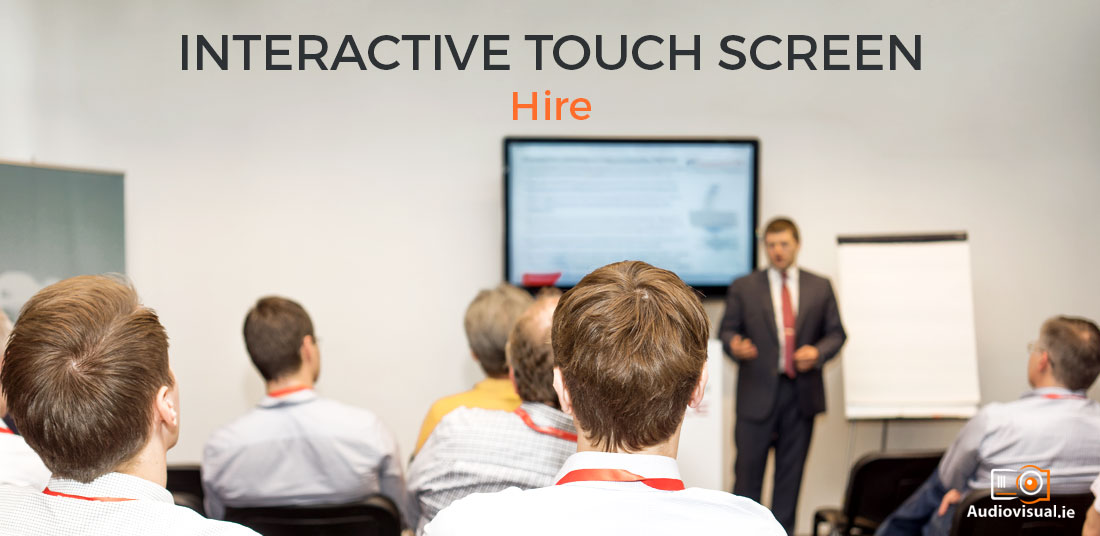 Interactive Touch Screen Hire - Audiovisual Dublin
