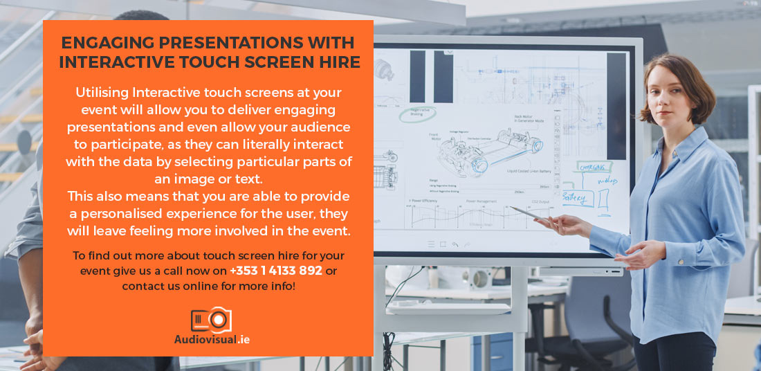 Interactive Touch Screen for Presentations