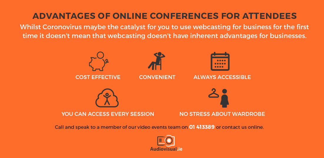 Advantages of Online Conferences - COVID-19